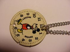 vintage Mickey Mouse necklace