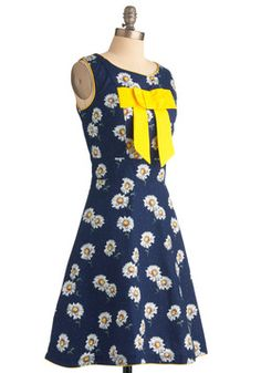 Daisy Day In Dress, #ModCloth