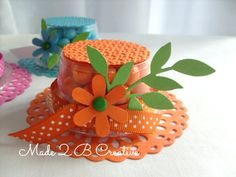 Mother's Day Clear Cup Hat Favor