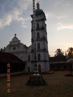 "A view of ""St Thomas Syro Malabar Church"" in Palayur village  of Kerala."