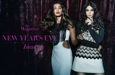 NEW YEAR'S EVE ISSUE with NIDHI & KAVYA Winter is coming and the party mood is in order. This season, cold nights are set to get hotter as fashion pushes glamour levels to the hilt. With our cover girls, Nidhi and Kavya, we're taking an edgier route to party wear.  Photography: Kunaal Bose Photography Outfit: Carousel by Simran Arya and Huemn by Pranav Mishra and Shyma Shetty. Jewellery: Outhouse and Micare. Location: Kitty Su.