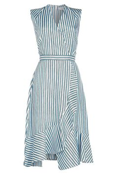 Get Price Carven Striped Silk Midi Dress, We offer cheap Carven Striped Silk Midi Dress from the best stores. Silk Midi Dress, Knit Dress, Dress Skirt, Handmade Dresses, Carven, Asymmetrical Dress, Cotton Dresses, Dress Patterns, Striped Dress