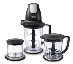 Ninja Master Prep Professional Blender, Chopper, Ice Crusher and Food Processor: More Power & 2 Times Faster, Clear; Specialty Appliances, Small Appliances, Kitchen Appliances, Kitchen Mixer, Cooking Appliances, Kitchen Sink, Kitchen Storage, Blender Food Processor, Food Processor Recipes