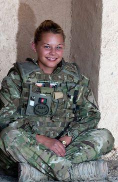 For Mike Davis: Afghanistan: female soldier Idf Women, Military Women, Military Girl, Military Police, Sitting Cross Legged, My Champion, Female Soldier, Girls Uniforms, Badass Women