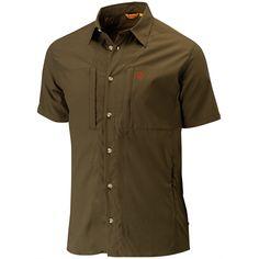 Hjort SS Shirt – Fjällräven Safari, Chef Jackets, Ss, Button Down Shirt, Men Casual, Mens Tops, Shirts, Fashion, Moda