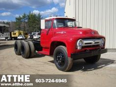 1956 Ford T800 Truck a