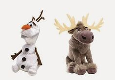 They have stolen our hearts...Who is in love with Olaf and Sven? Teelie Turner Shopping Network - Google+ www.teelieshopping.com