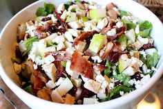 Autumn Chopped Salad Recipe - absolutely delicious www.noplacelykehome.blogspot.com