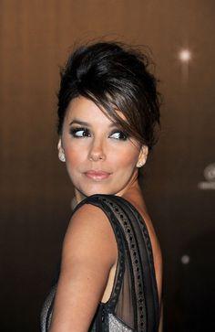 Cannes: famosas apostam no cabelo com topete