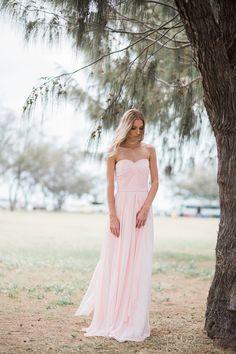 Our Romantic Silk Chiffon Bridesmaids Dresses| Pastel Colors | Goddess By Nature