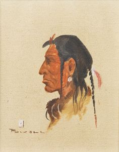 Blackfeet ace powell, oil  kp