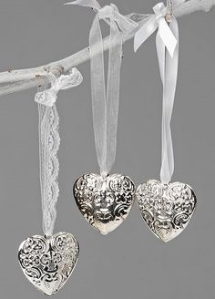 3 Tin Hearts - from http://www.livelaughlove.co.uk/