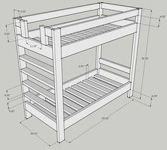 Bunk Bed Design Question – Kreg Owners' Community