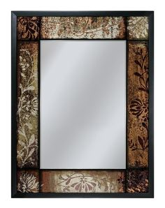 Plum Patchwork - Decorative Mirror