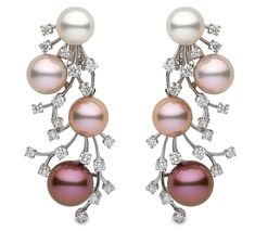 Pink and Radiant Orchid Pearl Earrings - Yoko London - Product Search - JCK Marketplace