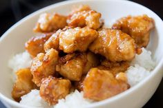 """Made this orange chicken with fake """"chik'n"""" and broccoli. Better than takeout!"""