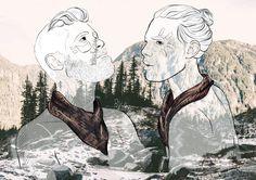 The digital illustrations of Raquel Villanueva freelance illustrator based in Barcelona