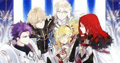Gawain/Mordred/Bedivere/Lancelot/Tristan FGO
