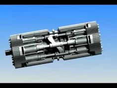 ENGINE CONCEPT AXIAL VECTOR ENGINE