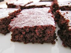 Pede Salsa: Brownie de beterraba e chocolate