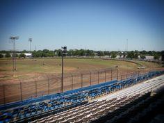 OKC State Fair Speedway....turn 1