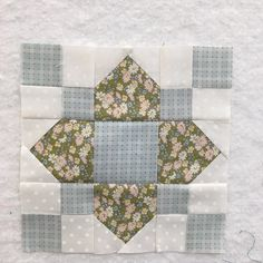Rose Park a block by Amy Smart that I am adding to my Splendid Sampler