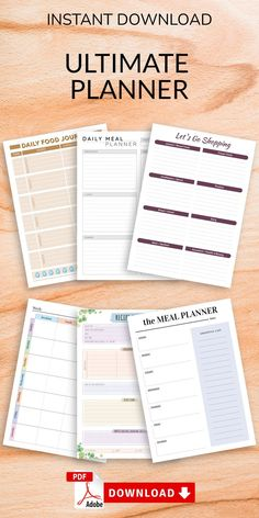 This collection of Blank Meal Plan Calendars will help you keep track of your chores, tasks and appointments, organize easily your schedule. Feel the easy life with this great tools! Life can get hectic, there is so much to keep up with. Weekly Meal Plan Template, Planner Template, Food To Go, Daily Meals, Meal Planner, Go Shopping, Calendar, Templates, How To Plan
