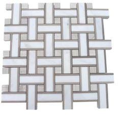 Twine Burlap Marble tile- shop glass tiles at glasstilestore.com