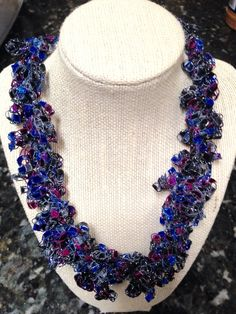 A personal favorite from my Etsy shop https://www.etsy.com/listing/269161296/glittery-blue-burgundy-ruffle-trellis-or