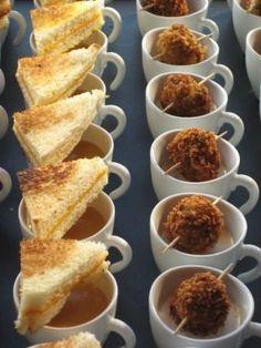 Plating Idea: Individual servings with gourmet garnish
