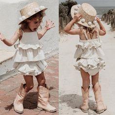 2PCS Newborn Kids Baby Girls Solid Outfits Set Tops+Ruffle Shorts Briefs Sunsuit