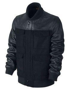 Nike BB51 Leather Destroyer Varsity NSW Jacket Was $550