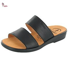 Ganter SONNICA 2028010100 femmes Sandales, noir 36.5 EU - Chaussures ganter (*Partner-Link)