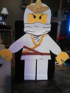 Lego Ninja Valentine Box for JW