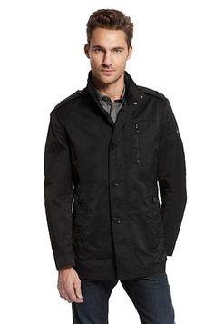 "Cotton Blend ""Conat"" jacket by Boss Black... Hot coat..."