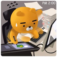 카카오프렌즈 라이언 Kakao Ryan, Kakao Friends, Anatomy Drawing, Line Friends, Creative Posters, Little Twin Stars, Cute Gif, Emoticon, Cute Cards