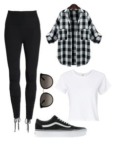 """•••"" by jessie-j-19 on Polyvore featuring Beyond Yoga, RE/DONE, Vans and Gucci"