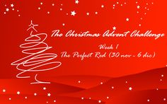 Consigli di Makeup: The Christmas Advent Challenge - The Perfect Red