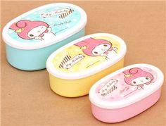 My Melody bunny Bento Box 3 pcs from Japan