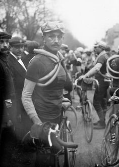 Lucien Petit-Breton at the 1912 edition of Paris-Roubaix