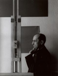 Painter Piet Mondrian, New York, 1942 | Arnold Newman