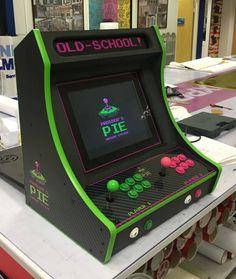 Personalized retropie bartop arcade