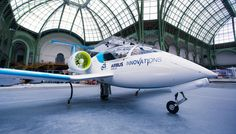 The company hopes its E-Fan 2.0 training aircraft will lead to electric-powered jetliners.