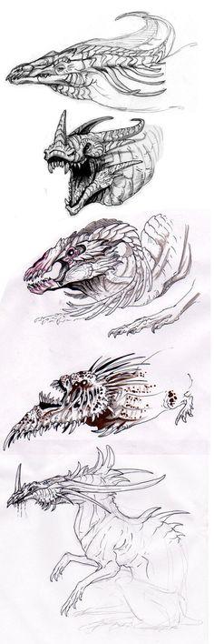 Monster Doodles by AbelPhee on DeviantArt