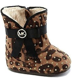 For Fashion-Forward Babies, Michael Kors Booties Are Just the Thing