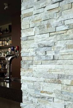 Fireplace stone we are doing. Erth Coverings Cream Quartzite 3D
