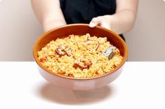 Arroz con pulpo con Thermomix