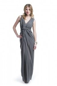 Getting A Neutral Color Of Grey Cocktail Dress: Grey Cocktail Dress Twisted ~ Dress Inspiration