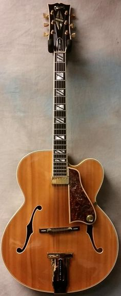1976 Gibson Johnny Smith Natural Hollow Body Electric Guitar