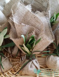 31 ideas olive tree wedding favor for 2019 Burlap Wedding Favors, Burlap Favor Bags, Creative Wedding Favors, Inexpensive Wedding Favors, Wedding Favors For Guests, Wedding Gifts, Wedding Cake, Silver Wedding Favors, Wedding Souvenir